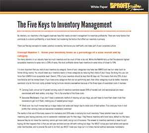 5 Keys to Inventory Management White Paper