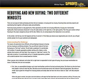 Re-Buying and New Buying: Two Different Mindsets White Paper